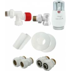 Zestaw instalacyjny termostatyczny aksialny ALL IN ONE AXI      VARIO TERM
