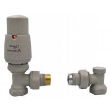 Zestaw instalacyjny termostatyczny kątowy lub prosty 1/2 gw  ELEGANT       VARIO TERM