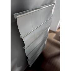 Grzejnik aluminiowy CURVAL  z zaworami w komplecie    IRSAP